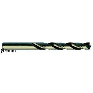 Metallipuur Ø9,0mm HSS-E, Co 5 DIN 338 VA 10tk, Exact