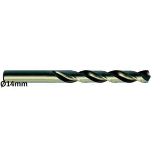 Metallipuur Ø14mm HSS-E, Co 5 DIN 338 VA 5tk, Exact