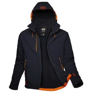 Striukė Chelsea Evolution SOFTSHELL su gobtuvu, navy blue 2XL, Helly Hansen WorkWear