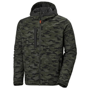 Džemperis Kensington SOFTSHELL su gobtuvu, Camo L, Helly Hansen WorkWear