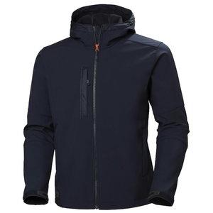 Softshell jakk kapuutsiga Kensington, tumesinine XL