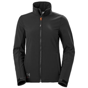 Softshell jakk Luna, naiste, must M, , Helly Hansen WorkWear