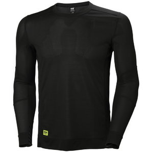 Apatiniai marškinėliai HH LIFA,  juoda L, Helly Hansen WorkWear