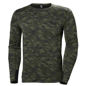 Apatiniai marškinėliai LIFA MERINO CREWNECK CAMO L, Helly Hansen WorkWear