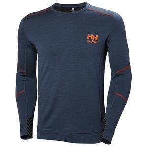 Apatiniai marškinėliai LIFA MERINO CREWNECK S, Helly Hansen WorkWear
