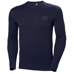 Apatiniai marškinėliai LIFA MERINO CREWNECK, navy S, Helly Hansen WorkWear