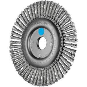 Wheel brush 150x6x22,2mm Pipe INOX 0,50 RBG, Pferd