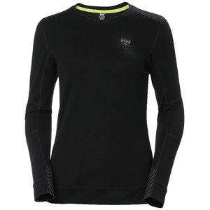 Apatiniai marškinėliai LIFA MERINO CREWNECK, moteriški, Helly Hansen WorkWear