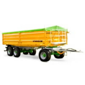Tipping trailer  Tetra-SPACE 7525/25TR140 WP, Joskin
