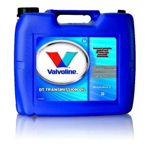 Трансмиссионное масло DT TRANSMISSION OIL SAE30 20L, VALVOLINE