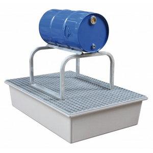 Barrel support for sump pallets FB1, 60L või 200L barrel, Cemo