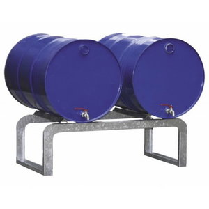 Barrel support for sump pallets FB2, 2x60L or 2x200L barrel, Cemo