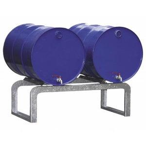 Barrel support for sump pallets FB2, 2x60L or 2x200L barrel, Cemo