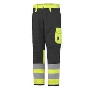 Kõrgnähtavad keevitaja püksid Aberdeen,kollane/tumehall C56