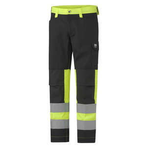 ALTA CONS PANT CL 1, yellow/black C52, Helly Hansen WorkWear