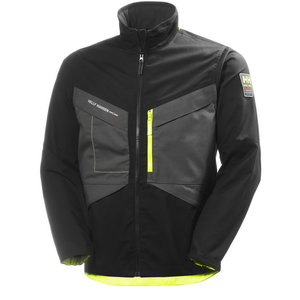 Jakk Aker, must/tumehall, Helly Hansen WorkWear