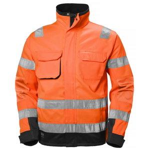 Kõrgnähtav jakk Alna CL3 oranž/must, Helly Hansen WorkWear