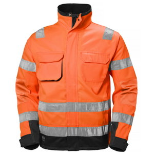 Kõrgnähtav jakk Alna CL3 oranž/must L, Helly Hansen WorkWear