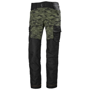 CHELSEA EVOLUTION SERVICE PANT, CAMO, Helly Hansen WorkWear