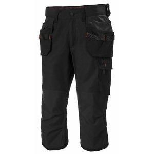 Pants 3/4 Oxford stretch, hanging pockets, black, Helly Hansen WorkWear