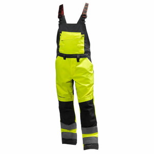Traksipüksid Alna kõrgnähtav CL2, kollane/must, Helly Hansen WorkWear