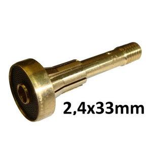 Dujų difuzorius 2,4x33mm ABITIG 150/260W, Binzel