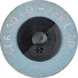Šlifavimo diskas 50mm P80 CO-COOL CDR (ROLOC)