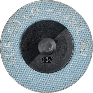 Slīpēšanas disks 50mm P80 CO-COOL CDR (ROLOC), Pferd