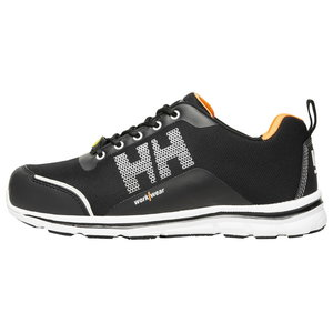 OSLO Low cut Aluminium toe S1P safety shoe, black/orange, Helly Hansen WorkWear