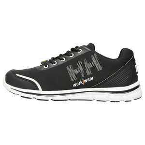 Work shoes OSLO SOFT TOE O1 SRC ESD, black/orange 46, Helly Hansen WorkWear