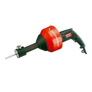Rospimatic cauruļu tīrīšanas iekārta 8 mm/7,5 m spirāle 230V, Rothenberger