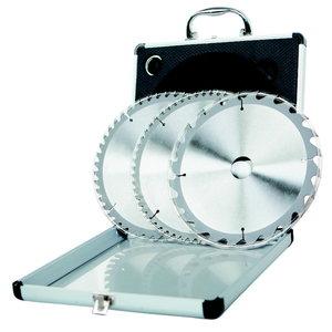 Plovimo diskų rinkinys 3 vnt.HW 210x2,6/30 mm Z24/48/60, Scheppach