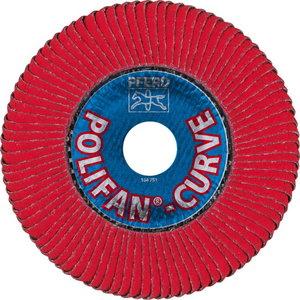 Pārlaiduma disks 125-L CO60 SGP CURVE STEELOX Radius>8mm PFR, Pferd