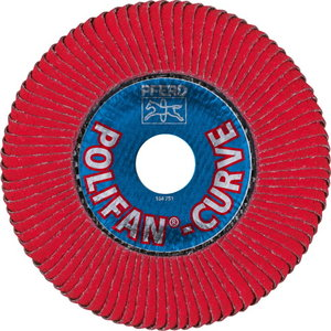Flap disc PFR 125 CO 60 SGP CURVE L, Pferd