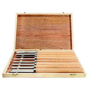 Set of turning tools, 8 pieces, Scheppach