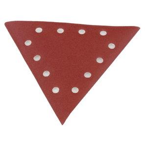 Triangle sanding paper, grit 100 - 10pcs. DS 930, Scheppach