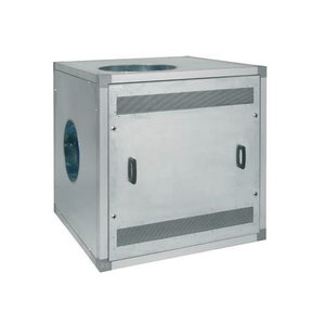 Extraction fan 18,5kW, SF19000 with sound absorb. case (LI), Plymovent