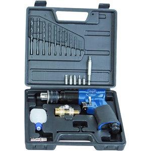"3/8"" reversible air drill kit, Scheppach"