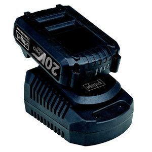 Akumulatora 1x2.0 Ah Li un akumulatora lādētāja komplekts, Scheppach