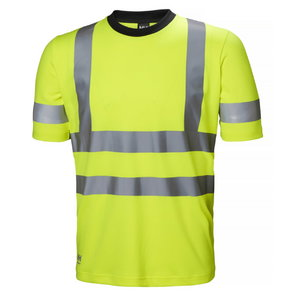 T-särk Addvis kõrgnähtav CL2, kollane, Helly Hansen WorkWear