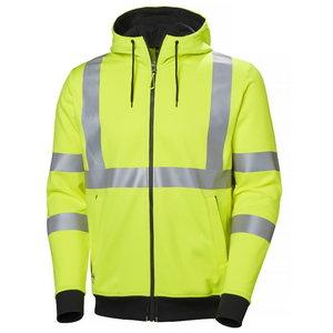 Dressipluus Addvis kapuutsiga, kõrgnähtav CL3, kollane, Helly Hansen WorkWear