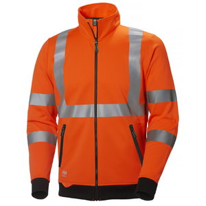 Addvis zip sweater orange, Helly Hansen WorkWear