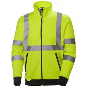 Addvis zip sweater yellow M, Helly Hansen WorkWear