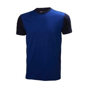 T-krekls AKER, cobalt blue/evening blue, Helly Hansen WorkWear