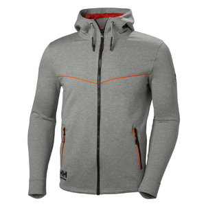 Džemperis CHELSEA EVOLUTION HOOD, pilkas S, Helly Hansen WorkWear