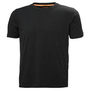 Marškinėliai CHELSEA EVOLUTION TEE, juoda XL, Helly Hansen WorkWear