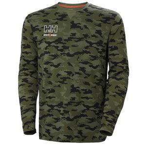 Marškinėliai  Kensington CAMO ilgomis rankovėmis 2XL, HELLYHANSE