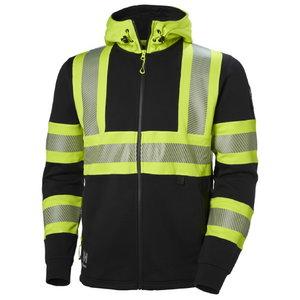 Dressipluus Icu kapuutsiga kõrgnähtav CL1, kollane/must XL, Helly Hansen WorkWear