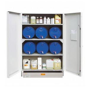 Environmental/HazMat cabinet 13/20 w. collection tray 150L, Cemo