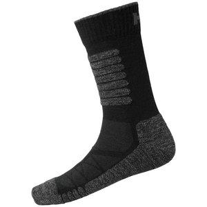 Kojinės  Chelsea Evolution žieminės, juoda, 1 pora 43-46, Helly Hansen WorkWear